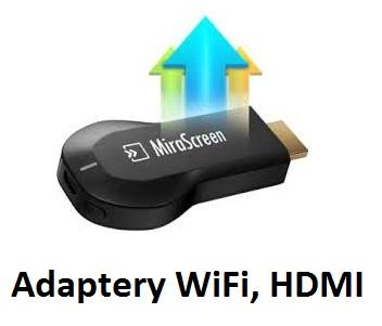 Adaptery HDMI WiFi